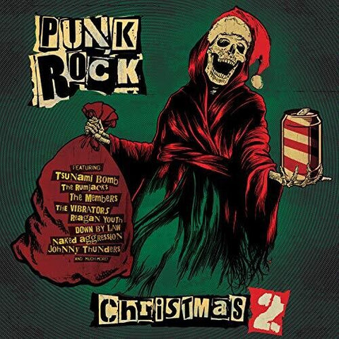 Various - Punk Rock Christmas 2 (Red Vinyl)