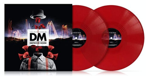 Various Artists - Many Faces of Depeche Mode (limited transparent red)