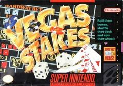 Vegas Stakes BOXED COMPLETE    SUPER NINTENDO ENTERTAINMENT SYSTEM