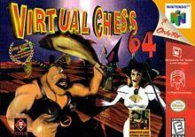 Virtual Chess 64 DMG LABEL    NINTENDO 64