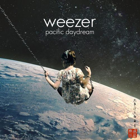 WEEZER - PACIFIC DAYDREAM (RED)