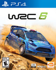 WRC 6    PLAYSTATION 4