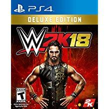 WWE 2K18 Deluxe Edition    PLAYSTATION 4