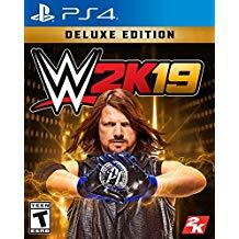 WWE 2k19 Deluxe Edition    PLAYSTATION 4