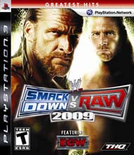 WWE Smackdown Vs Raw 09    PLAYSTATION 3