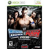 WWE Smackdown Vs Raw 10    XBOX 360