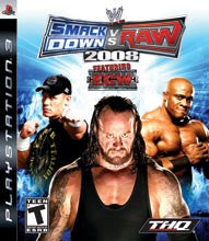 WWE Smackdown Vs Raw 2008    PLAYSTATION 3