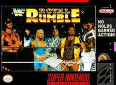 WWF Royal Rumble BOXED COMPLETE    SUPER NINTENDO ENTERTAINMENT SYSTEM