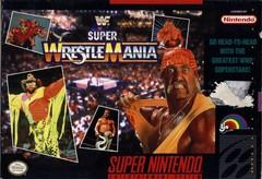 WWF Super WrestleMania    SUPER NINTENDO ENTERTAINMENT SYSTEM