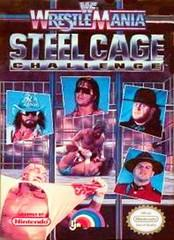 WWF WrestleMania Steel Cage Challenge DMG LABEL    NINTENDO ENTERTAINMENT SYSTEM