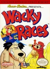 Wacky Races BOXED COMPLETE    NINTENDO ENTERTAINMENT SYSTEM