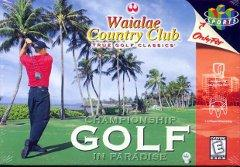 Waialae Country Club True Golf Classics BOXED COMPLETE    NINTENDO 64