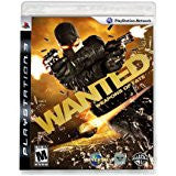 Wanted Weapons Of Fate    PLAYSTATION 3