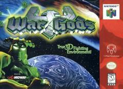 War Gods DMG LABEL    NINTENDO 64