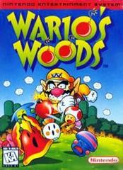 Warios Woods DMG LABEL    NINTENDO ENTERTAINMENT SYSTEM