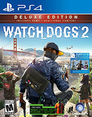 Watch Dogs 2 Deluxe Edition    PLAYSTATION 4