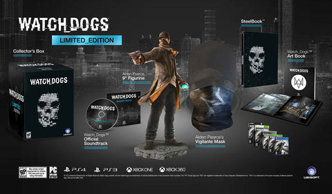 Watch Dogs Limited Edition    XBOX 360