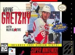 Wayne Gretzky and the NHLPA All Stars DMG LABEL    SUPER NINTENDO ENTERTAINMENT SYSTEM