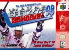 Wayne Gretzkys 3D Hockey 98 DMG LABEL    NINTENDO 64