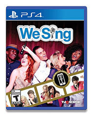 We Sing    PLAYSTATION 4