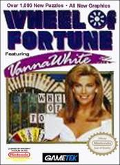Wheel of Fortune Featuring Vanna White DMG LABEL    NINTENDO ENTERTAINMENT SYSTEM