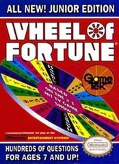 Wheel of Fortune Junior Edition DMG LABEL    NINTENDO ENTERTAINMENT SYSTEM