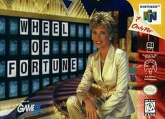 Wheel of Fortune BOXED COMPLETE    NINTENDO 64