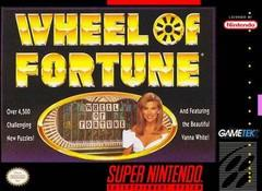 Wheel of Fortune Featuring Vanna White DMG LABEL    SUPER NINTENDO ENTERTAINMENT SYSTEM