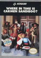 Where in Time is Carmen Sandiego?     NINTENDO ENTERTAINMENT SYSTEM