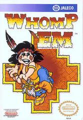 Whomp Em DMG LABEL    NINTENDO ENTERTAINMENT SYSTEM