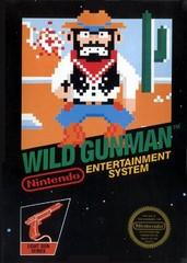 Wild Gunman DMG LABEL    NINTENDO ENTERTAINMENT SYSTEM