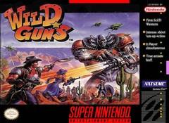 Wild Guns BOXED COMPLETE    SUPER NINTENDO ENTERTAINMENT SYSTEM