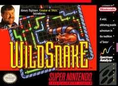 Wild Snake DMG LABEL    SUPER NINTENDO ENTERTAINMENT SYSTEM