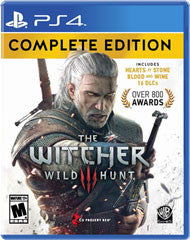 Witcher 3 Wild Hunt Complete Edition    PLAYSTATION 4
