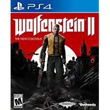 Wolfenstein 2 The New Colossus    PLAYSTATION 4