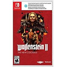Wolfenstein II The New Colossus    NINTENDO SWITCH