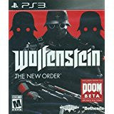 Wolfenstein The New Order    PLAYSTATION 3