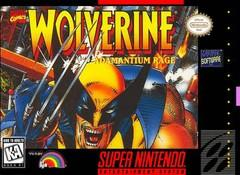 Wolverine Adamantium Rage DMG LABEL    SUPER NINTENDO ENTERTAINMENT SYSTEM