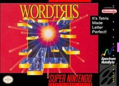 Wordtris BOXED COMPLETE    SUPER NINTENDO ENTERTAINMENT SYSTEM