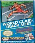 World Class Track Meet DMG LABEL    NINTENDO ENTERTAINMENT SYSTEM