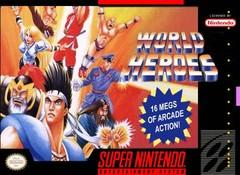 World Heroes    SUPER NINTENDO ENTERTAINMENT SYSTEM