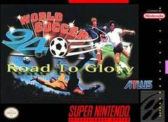 World Soccer 94 Road to Glory BOXED COMPLETE    SUPER NINTENDO ENTERTAINMENT SYSTEM