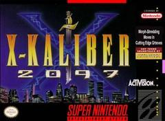 X Kaliber 2097 BOXED COMPLETE    SUPER NINTENDO ENTERTAINMENT SYSTEM