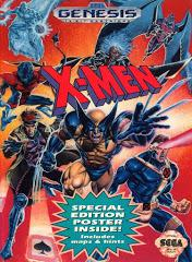 X-Men DMG LABEL    SEGA GENESIS