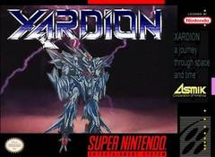 Xardion DMG LABEL    SUPER NINTENDO ENTERTAINMENT SYSTEM