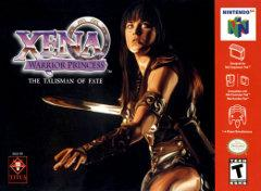 Xena Warrior Princess The Talisman of Fate BOXED COMPLETE    NINTENDO 64
