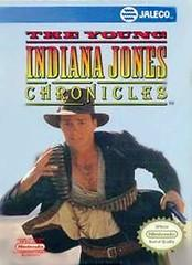 Young Indiana Jones Chronicles BOXED COMPLETE    NINTENDO ENTERTAINMENT SYSTEM
