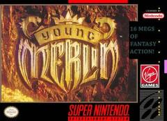 Young Merlin    SUPER NINTENDO ENTERTAINMENT SYSTEM