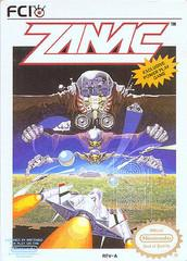 Zanac DMG LABEL    NINTENDO ENTERTAINMENT SYSTEM