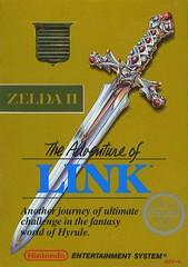 Zelda II The Adventure of Link (GREY) BOXED COMPLETE    NINTENDO ENTERTAINMENT SYSTEM